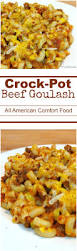 crock pot beef goulash crock pot ladies