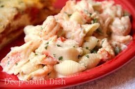 Pasta Salad Mayo by Deep South Dish Seafood Pasta Salad