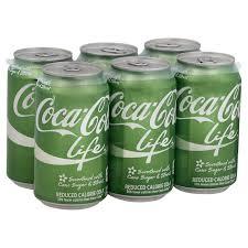 Coca Cola Patio Umbrella by Coca Cola Coke Life Soda 12 Oz Cans Shop Soft Drinks At Heb