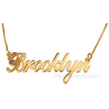 Double Plated Name Necklace Necklaces Polyvore