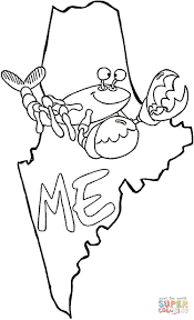 map of maine coloring page free printable coloring pages