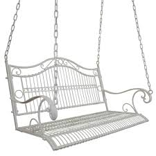 jeco wicker porch swing hayneedle with white porch swing