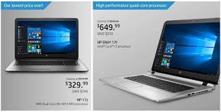 laptop black friday 2017 best deals hp black friday ad leaks with laptop desktop pc deals from 250