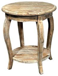 reclaimed wood end table diy round end table decoration round reclaimed wood end table modern
