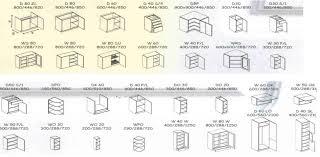 meuble de cuisine en kit dimension meuble de cuisine cuisine en image