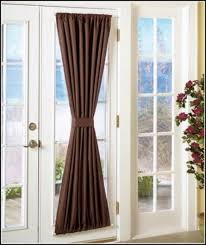 Blackout Door Panel Curtains Curtain Seductive Blackout Door Panel Curtains Weaselmedia For