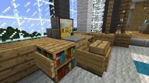 How To Build A Bookcase In Minecraft Tutorials Furniture U2013 Official Minecraft Wiki