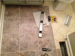 peel and stick vinyl tile flooring for bathrooms peel and