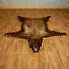 black cinnamon bear full size rug for sale 17255 the taxidermy