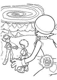 controller digimon coloring pages coloring pages