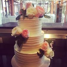 wedding cake no fondant no fondant wedding cake 3 tier scalloped relief exterior