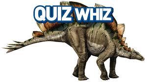 quiz whiz dinosaurs