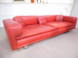 Heals Sofa Bed Howard Keith Diplomat Red Leather Sofa Heals U0026 Sons 1969 Design 4