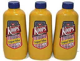 koops mustard koops mustard original yellow 12 ounce pack of 3