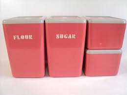 pink canisters kitchen kitchen flour sugar canisters pink plastic canister set coffee tea