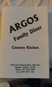 argos family diner menu menu for argos family diner apopka