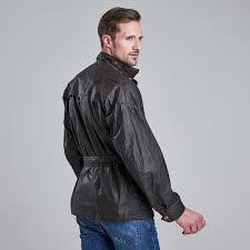international triumph minerva dry wax jacket olive