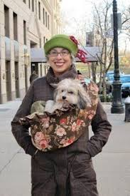 dog carrier not too shabby chic dog sling carrier two frou frou