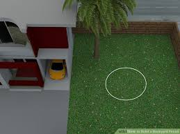 How To Build A Backyard 4 Ways To Build A Backyard Firepit Wikihow