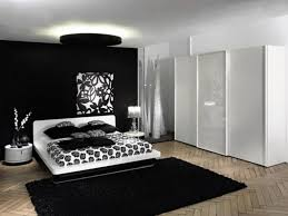 new ideas bedroom decorating black and white modern 12 for room