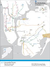 Train Map New York by Accessible Transit Just Urbanism