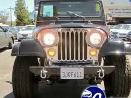 california used for sale used 1985 jeep cj7 for sale near los angeles ca black