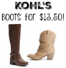 black friday boots kohl u0027s boots for 13 50 today only southern savers