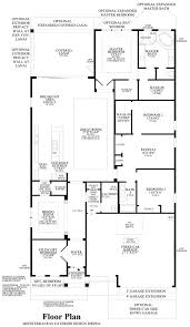 coastal oaks at nocatee heritage collection the anastasia home floor plan floor plan