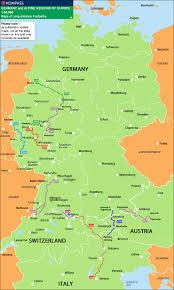Bonn Germany Map by Rheinsteig Long Distance Trail Bonn Wiesbaden Stanfords
