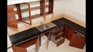 Kitchen With Pooja Room by Pvc Modular Kitchen Icon Interiors Coimbatore 8807992054
