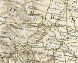 map uk harrogate history of pannal in harrogate and west map and description