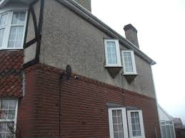 Spray Paint House Walls Tips On Painting Pebbledash There Is An Easier Way Never Paint