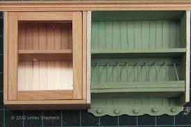 Kitchen Cabinets Height Make Glass Front Upper Kitchen Cabinets For The Dollhousekitchen