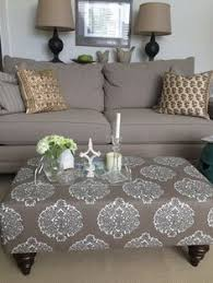 Upholstered Ottoman Coffee Table Ottoman Coffee Table Wrap Tray Furniture Diy Pinterest