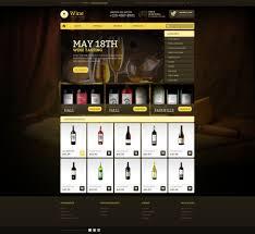 Kosher Champagne Website Template 44136 Wine Store Production Custom Website