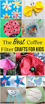 the best coffee filter crafts for kids these are so cute i love