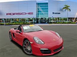 porsche boxster 2015 price used certified one owner 2015 porsche boxster s in west palm beach