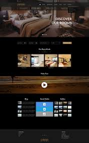 black u0026 gold hotel website template sketch design by mraux