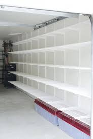 an incredibly organized garage basement storage ideas basement