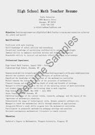 Resume Sample Tutor by Resume Examples High Sample Math Tutor Entry Level Teacher