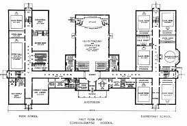 the floor plan of a new building is shown elementary school building design plans elementary junior