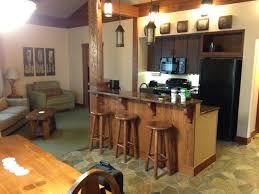 kitchen dining living room the treehouse villas at disney u0027s