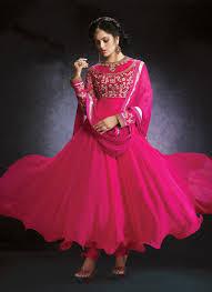 color designer rose pink color designer salwar suit