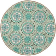 contemporary indoor outdoor rugs marvelous contemporary round turquoise rug crazy carpet circle