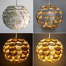 Paper Light Fixtures 2 X Multi Colour Sheep Pattern Round Paper Lantern Ceiling