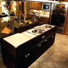kitchen islands with sinks kitchen island sinks pixelkitchen co