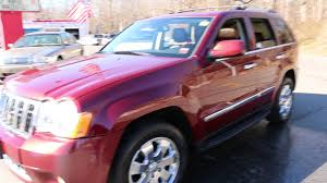 jeep grand cherokee brown webe autos review of 2008 jeep grand cherokee overland for sale