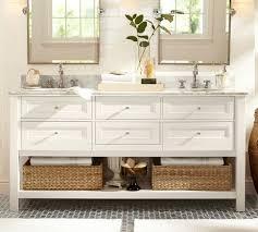 Bathroom Vanities Sink Consoles Pottery Barn Inside Vanity