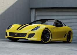 ferrari yellow car sport car garage wheelsandmore ferrari 599 gto 2012