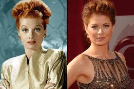 lucille ball u0026 debra messing actors from different eras who look